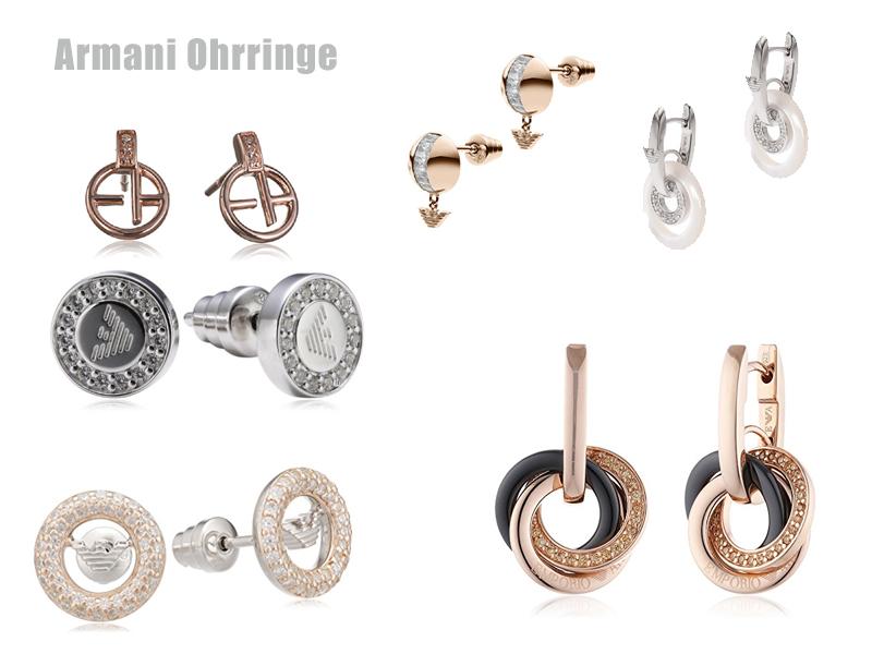 Ohrringe Armani