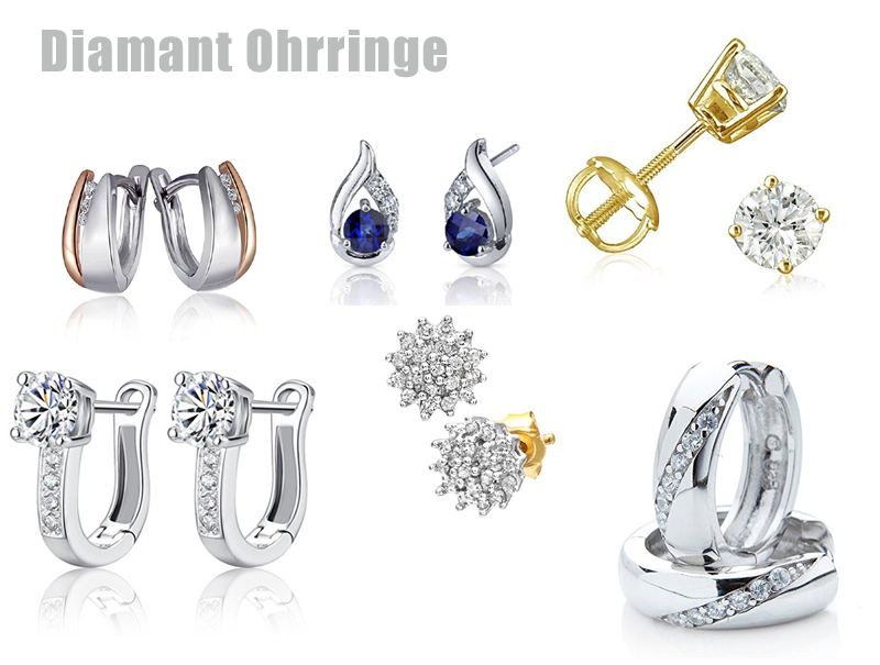 Ohrringe Diamant