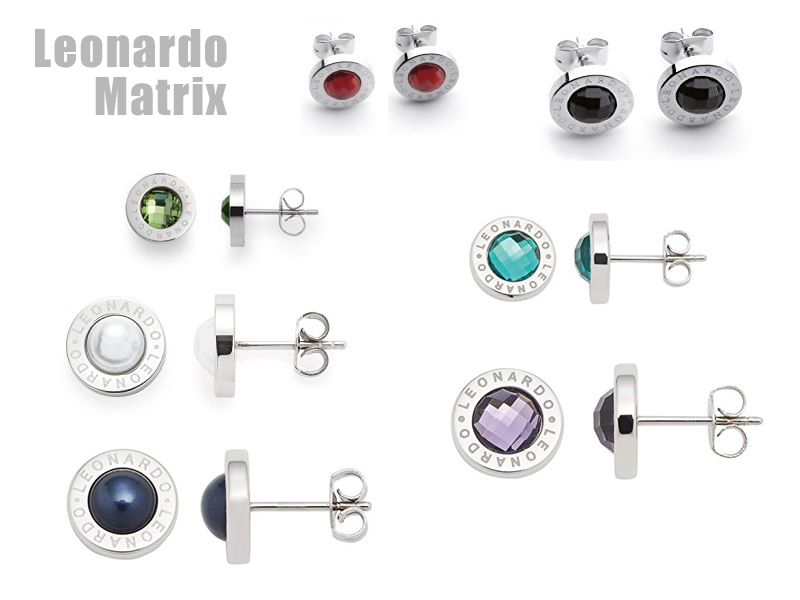Ohrstecker Leonardo Matrix