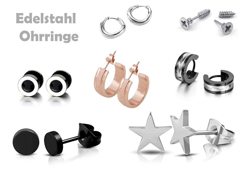 Ohrringe Edelstahl