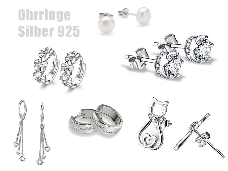 Ohrringe Silber 925